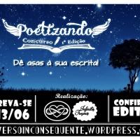 Concurso Poetizando – 1ª Edição > Inscrições Abertas!